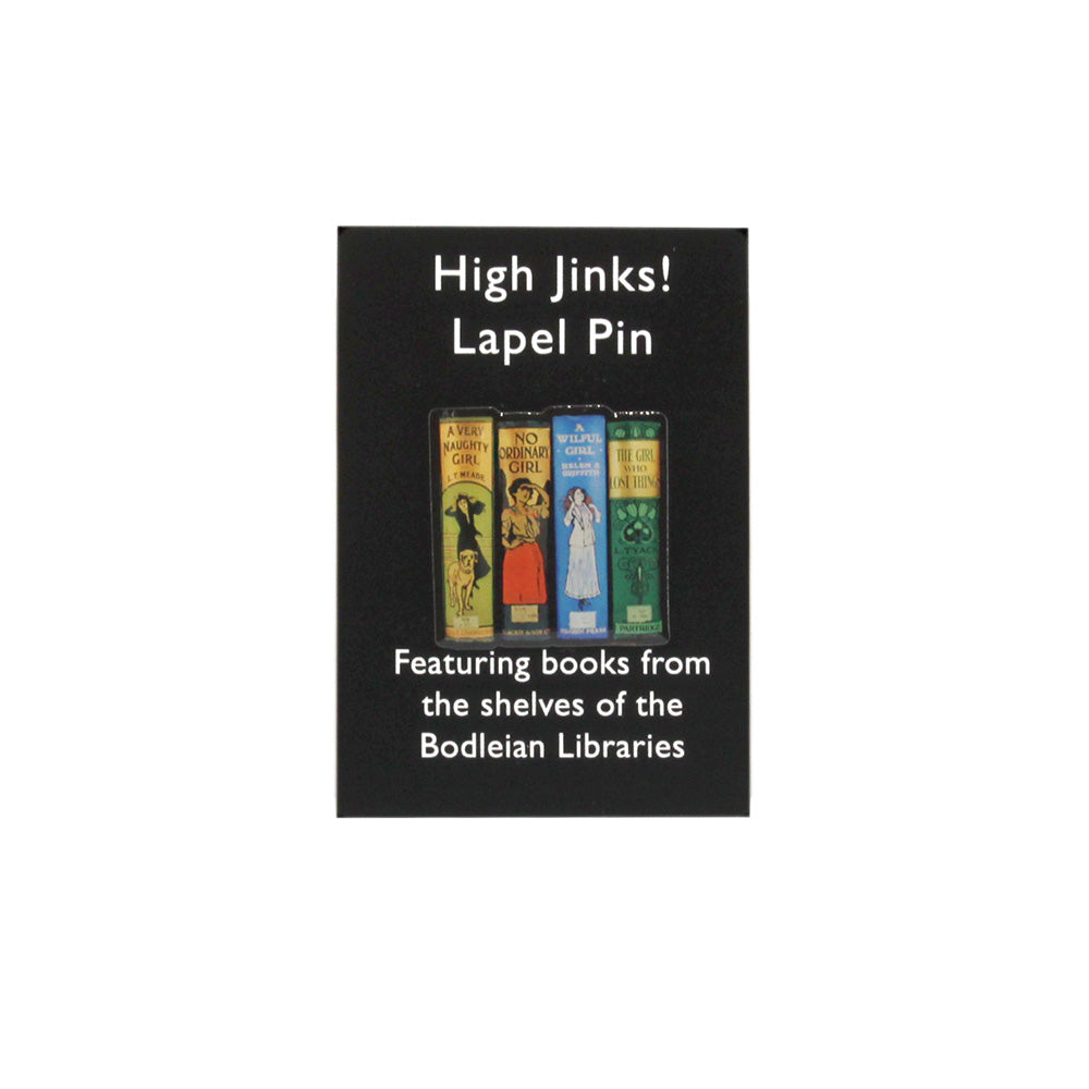 High Jinks Pin Badge