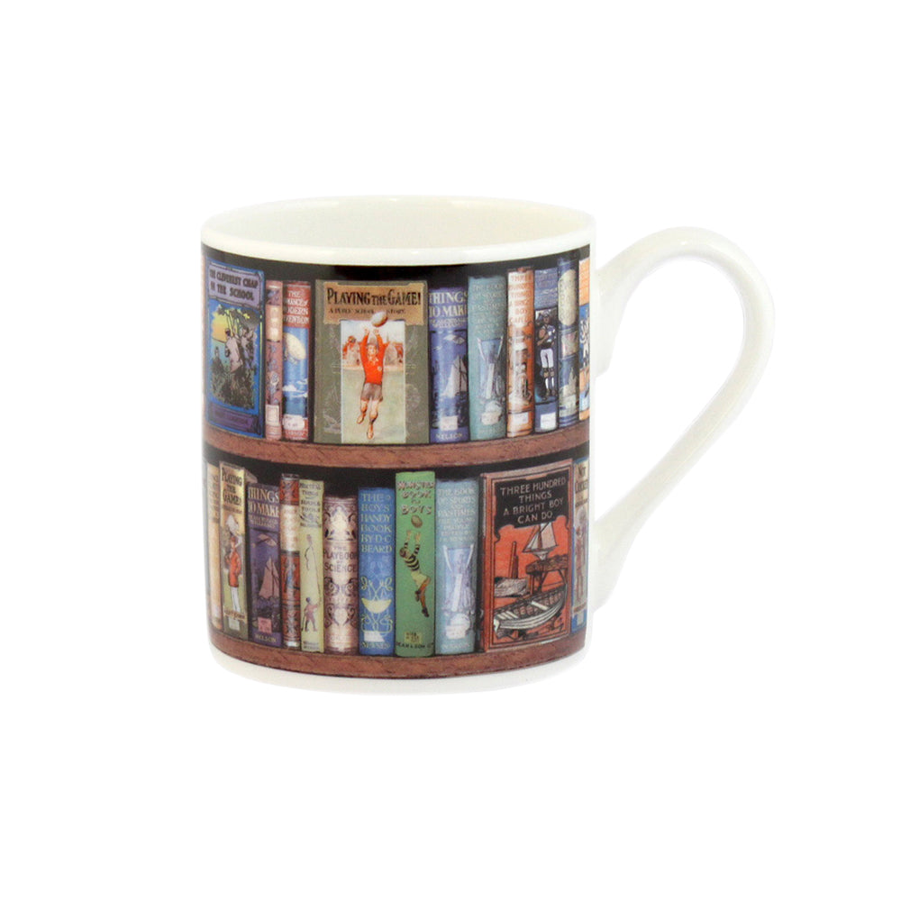 'Hobbies' Bookshelves Mug