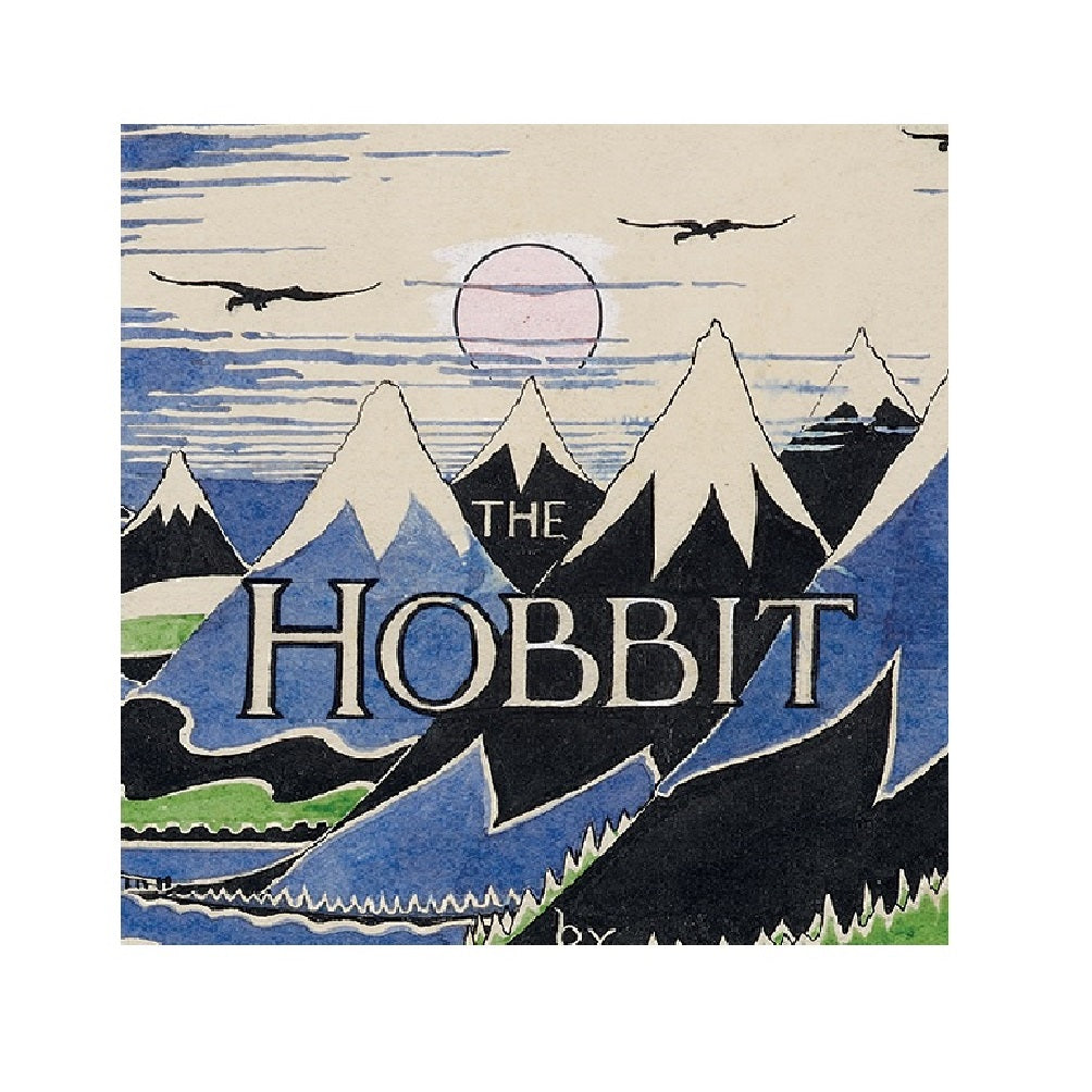 The Hobbit Dust Jacket Notecard