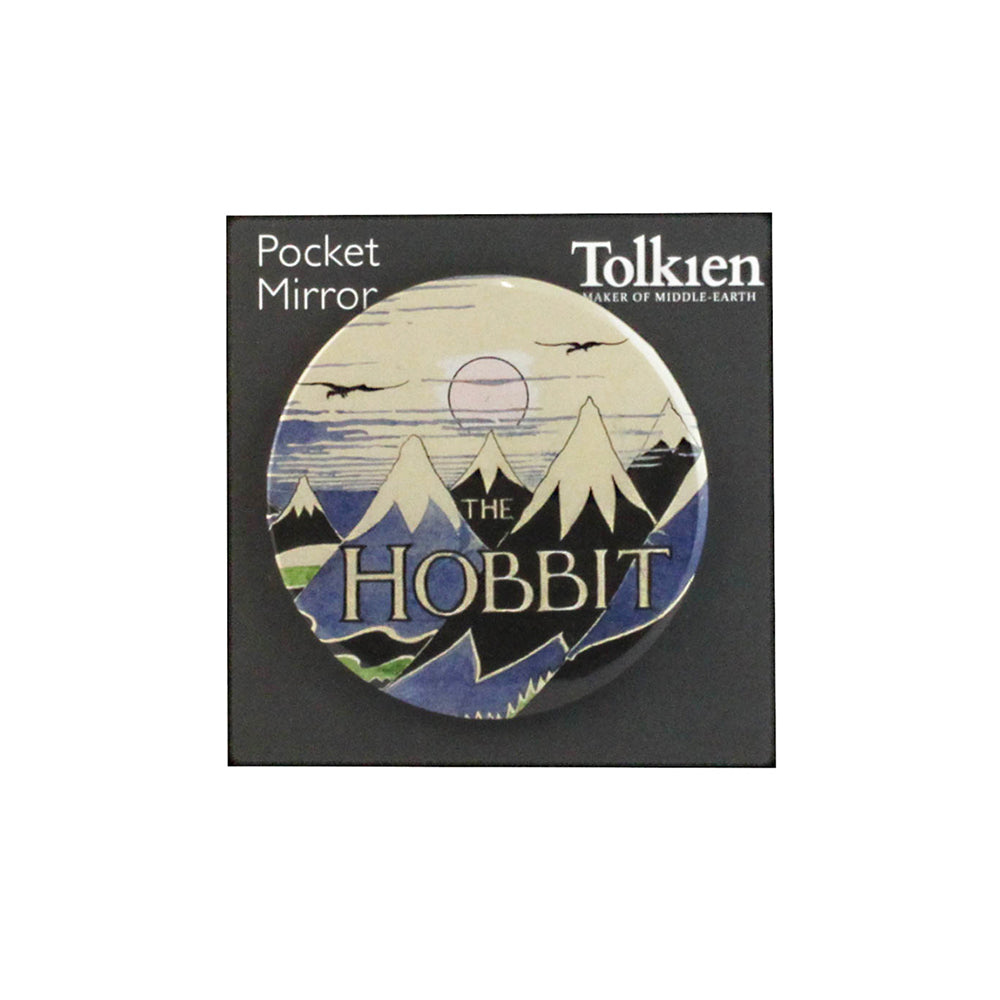 The Hobbit Dust Jacket Pocket Mirror