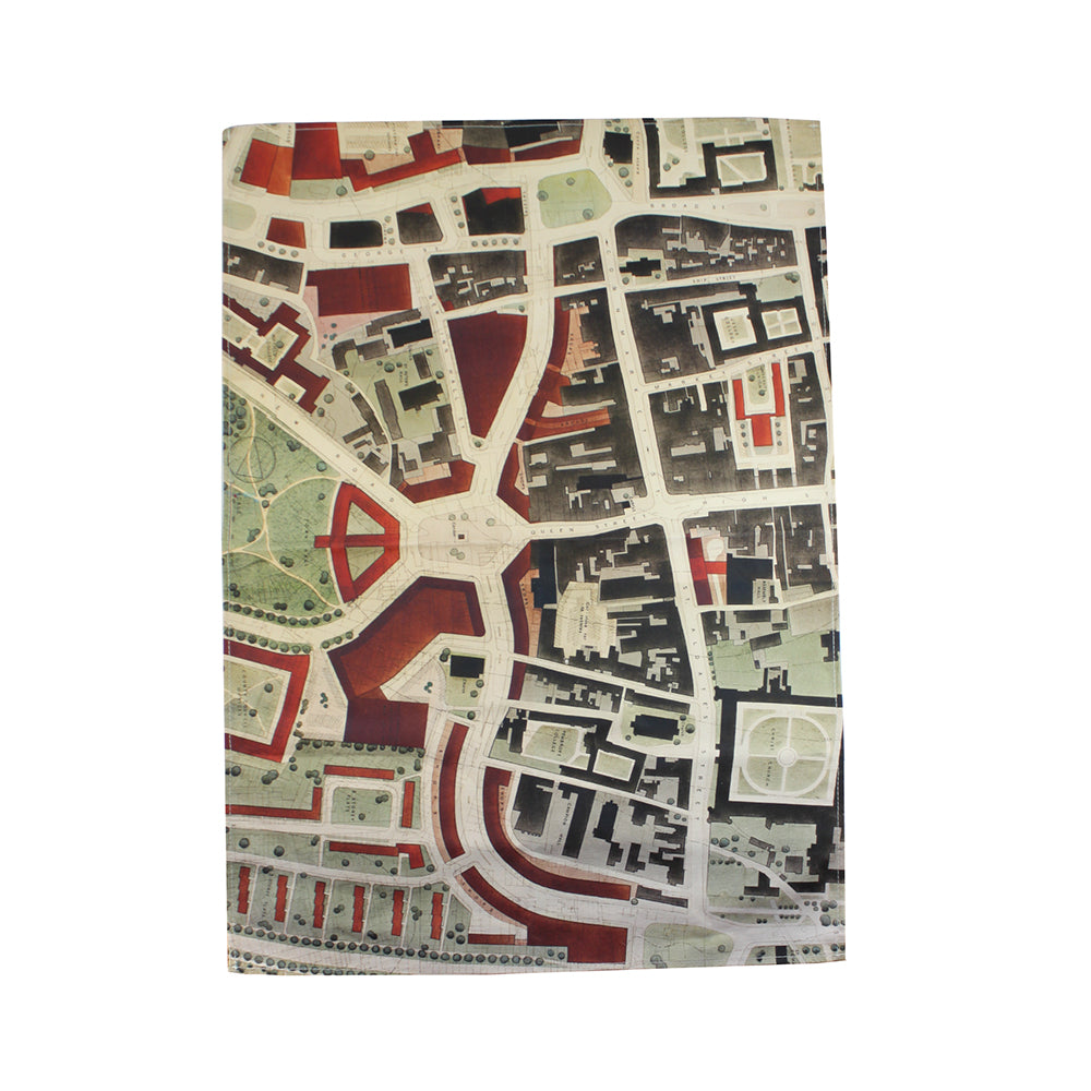 1948 Oxford City Plan Tea Towel