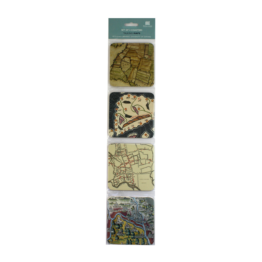 Talking Maps Coaster Set