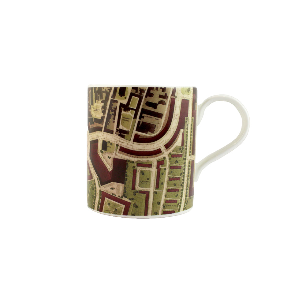 1948 Oxford City Plan Mug