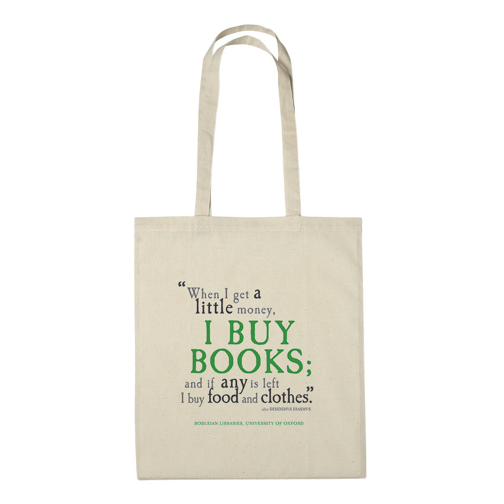 I Buy Books Cotton Bag