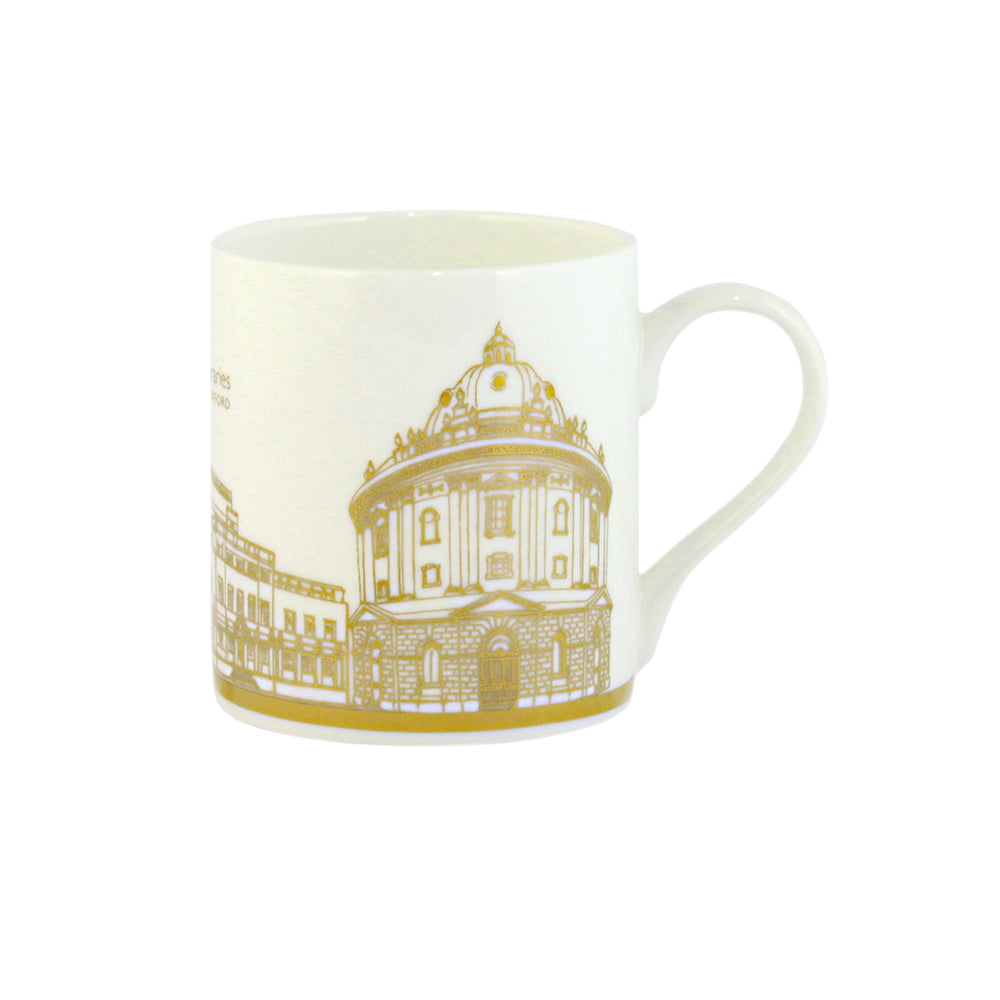 Gold Bodleian Illustration Mug