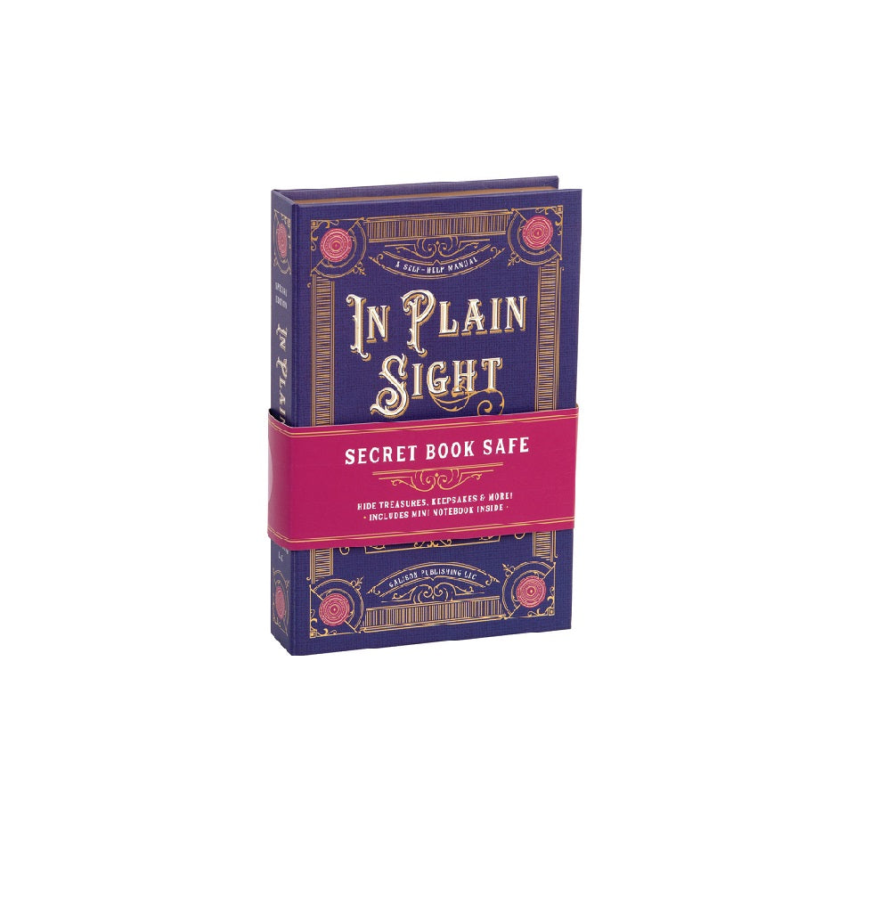 In Plain Sight Book Safe