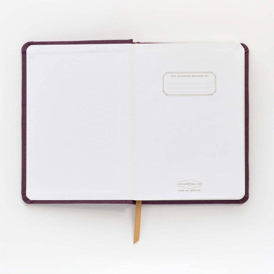 Cloth Bound Journal - 'Le Bateau'