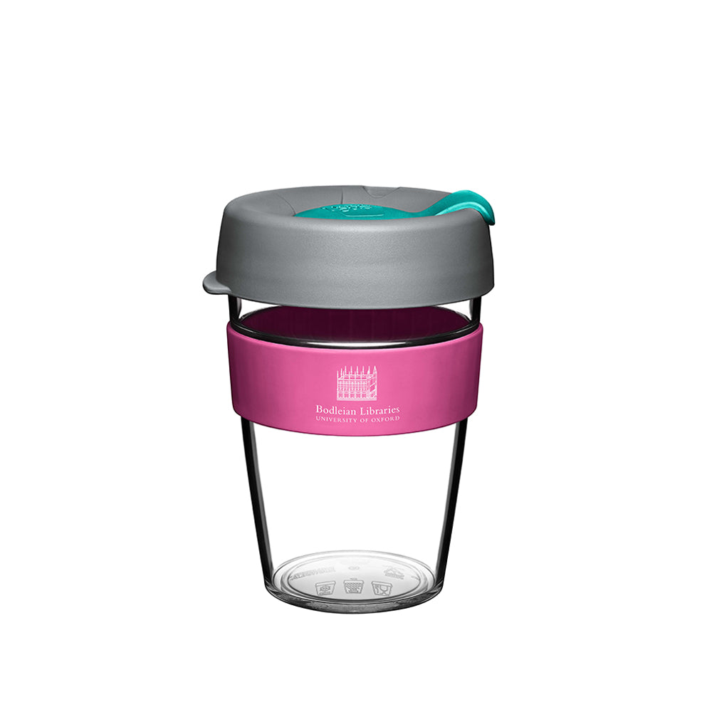 Pink Bodleian Plastic KeepCup