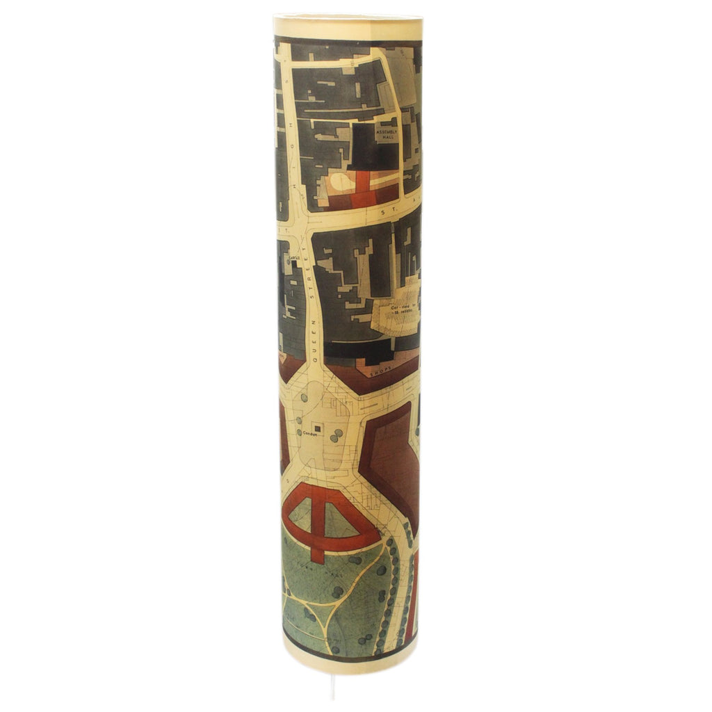 1948 Oxford City Plan Lampshade