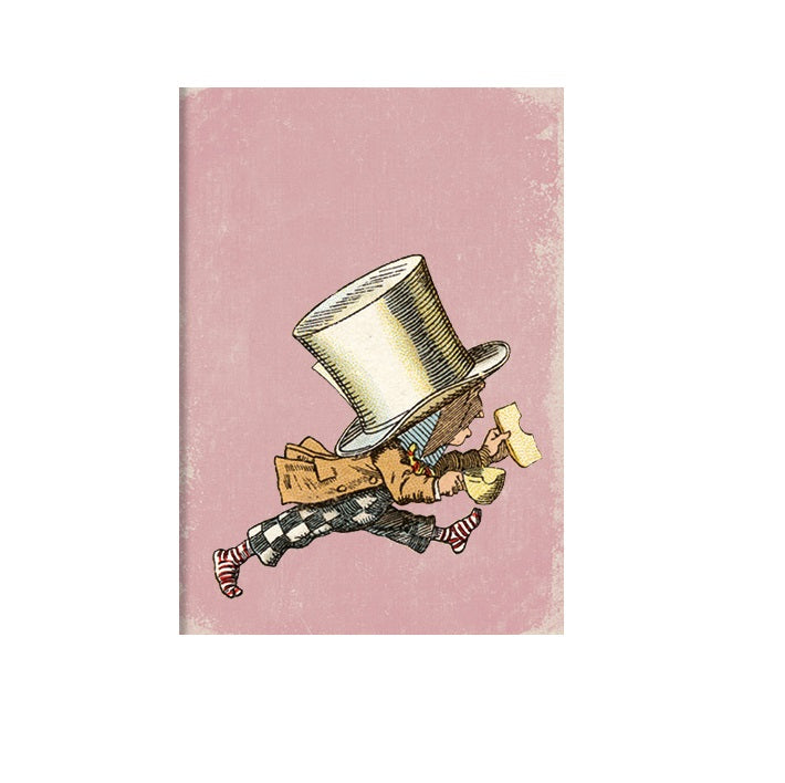 The Mad Hatter Greetings Card