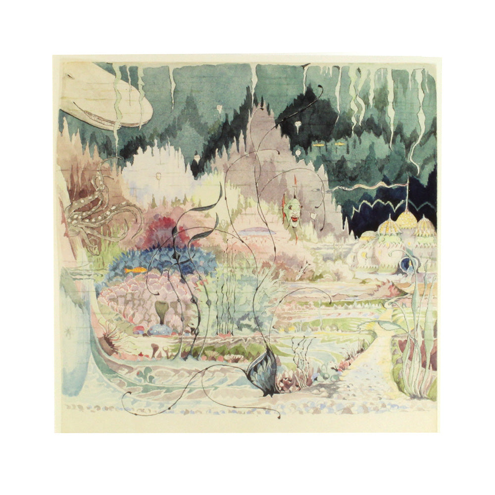 The Gardens of the Merking's Palace Notecard
