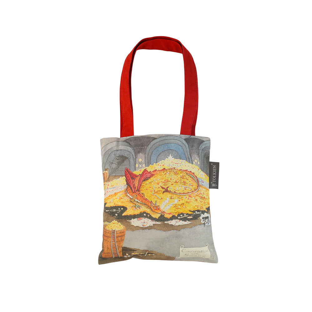 Conversation with Smaug Mini Tote Bag