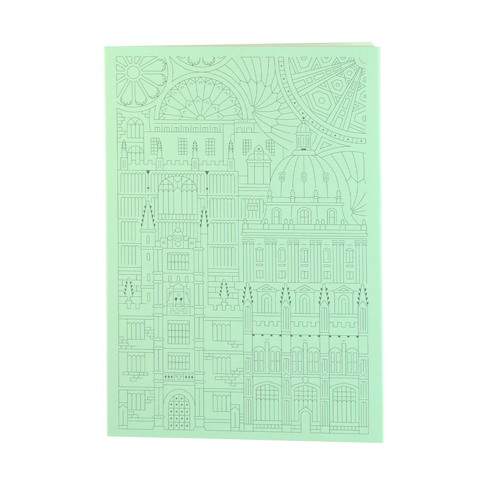 Bodleian Illustration Mint A5 Notebook