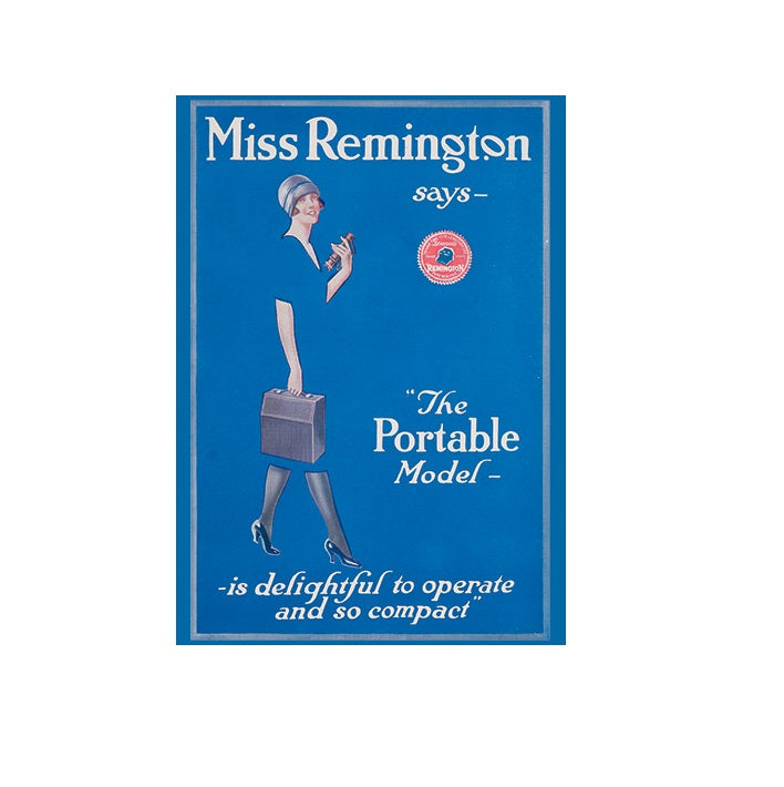 Miss Remington Greetings Card