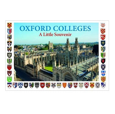 Oxford Colleges Little Souvenir Book