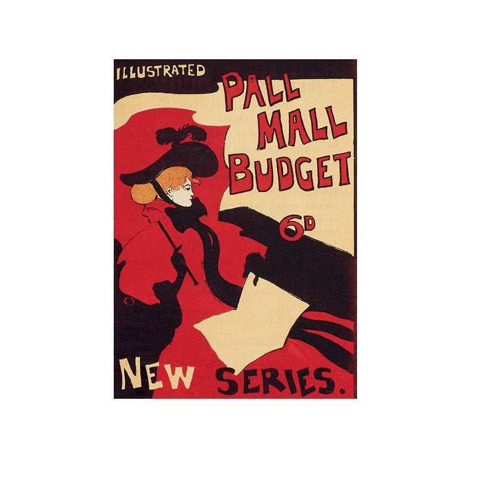 Pall Mall Budget Greetings Card