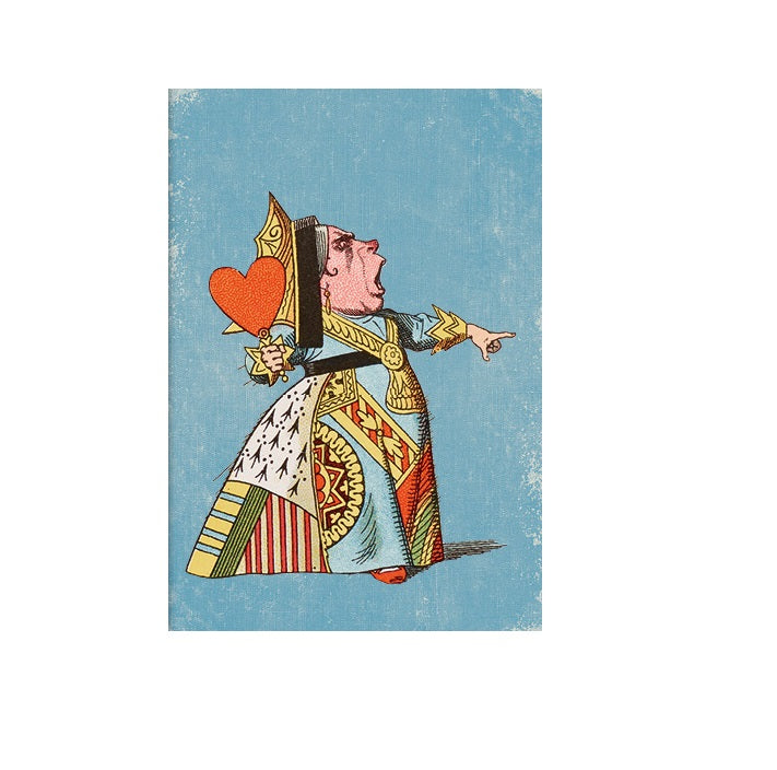 The Queen of Hearts Greetings Card