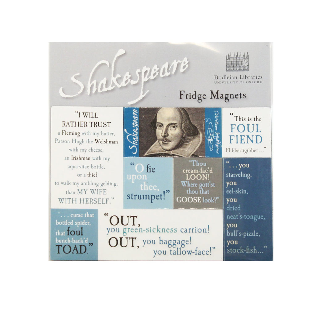 Shakespeare Quotes Magnet Set