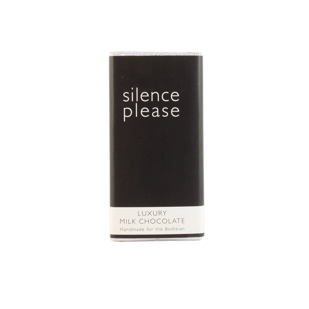 Silence Please Milk Chocolate Bar
