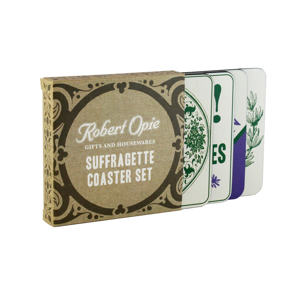 Suffragette Coaster Set