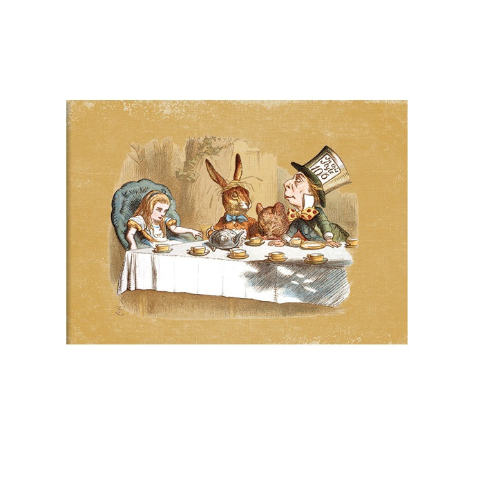 The Mad Hatter's Tea Party Greetings Card