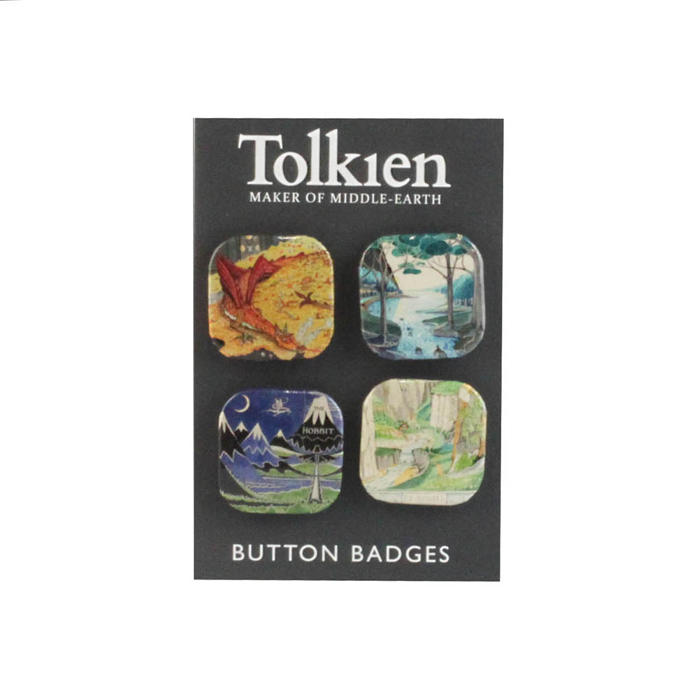 The Hobbit Badge Set