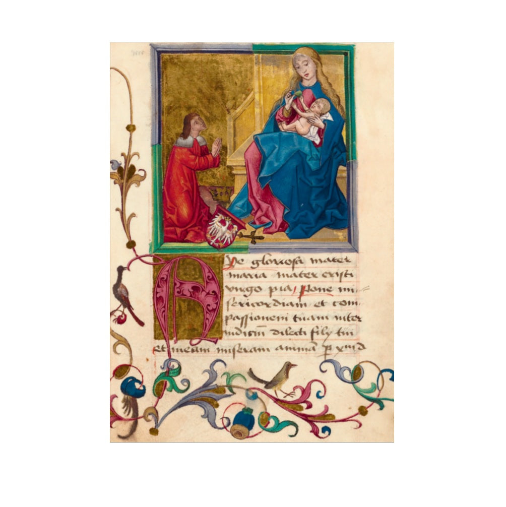 'Virgin and Child' Christmas Card pack