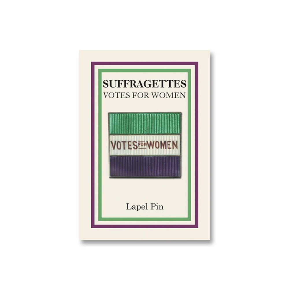 Votes for Women Flag Lapel Pin