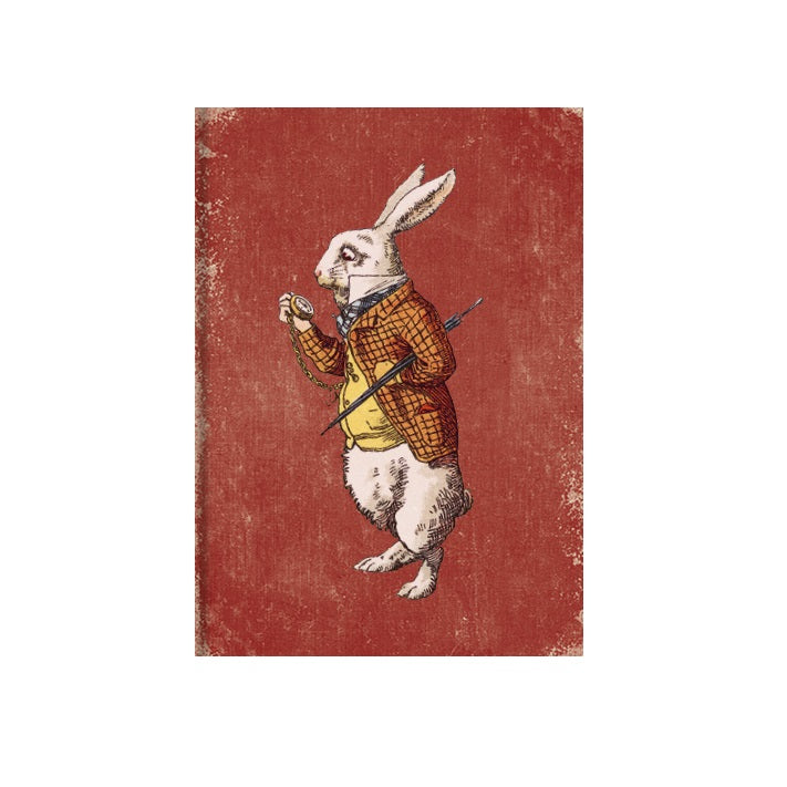 The White Rabbit Greetings Card