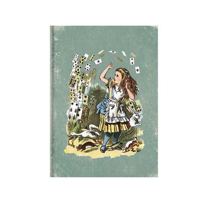 Alice and the Playing Cards Greetings Card