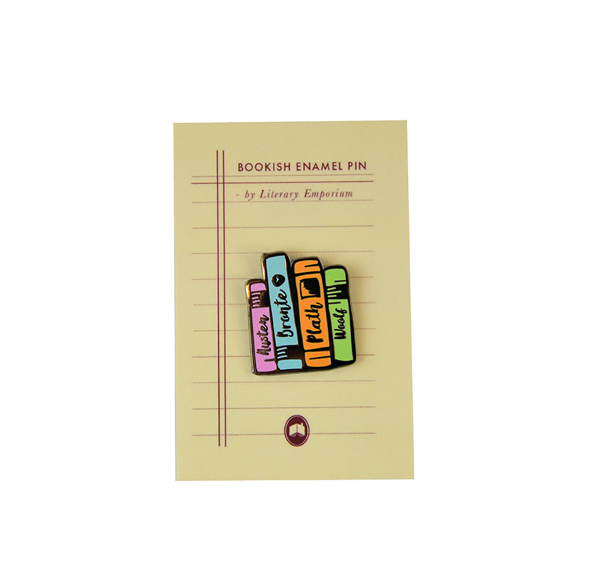 Literature Ladies Enamel Pin