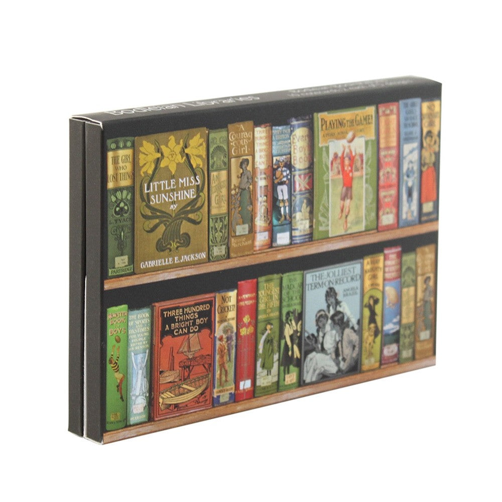 Bookshelves Notecard Wallet
