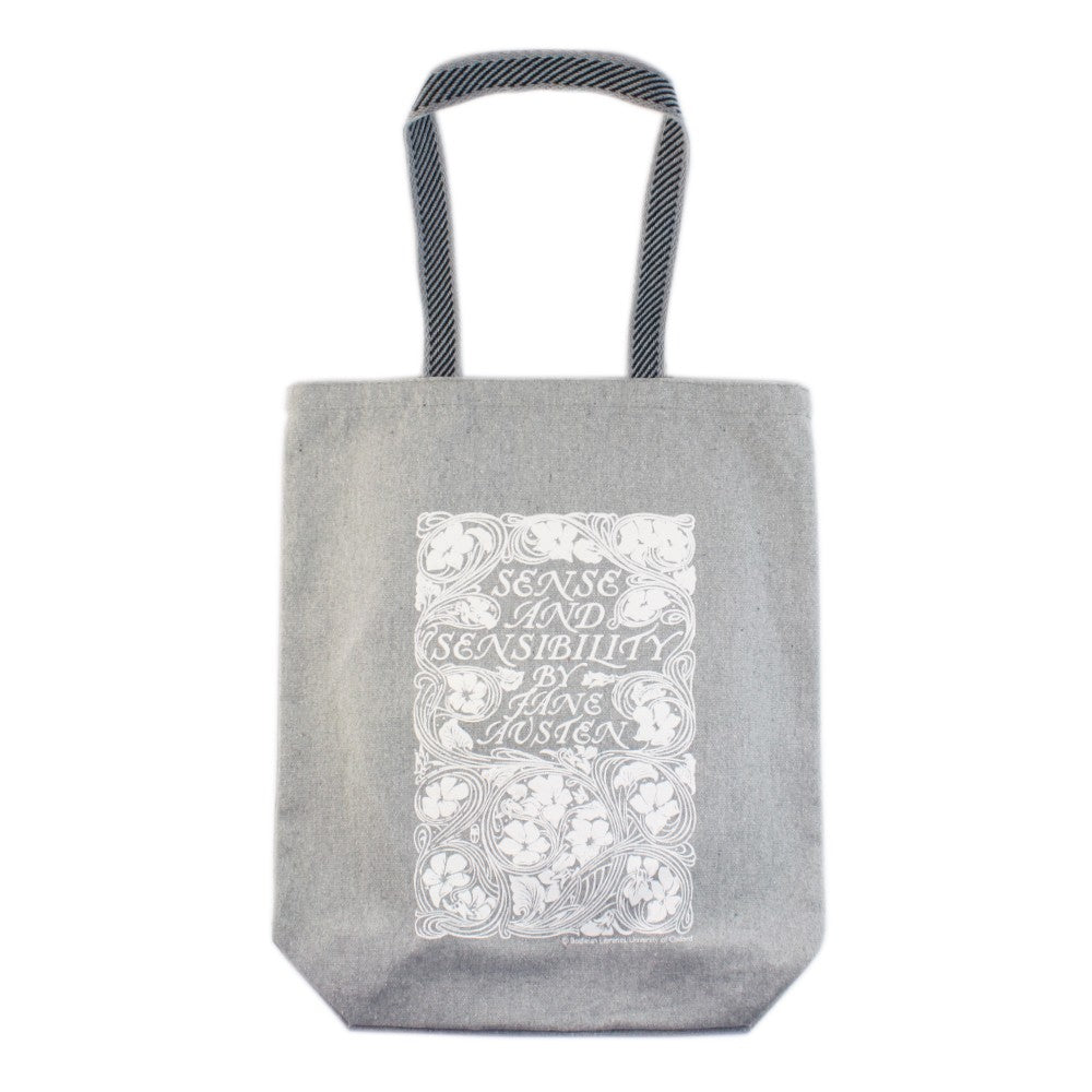 Sense and Sensibility Grey Tote Bag
