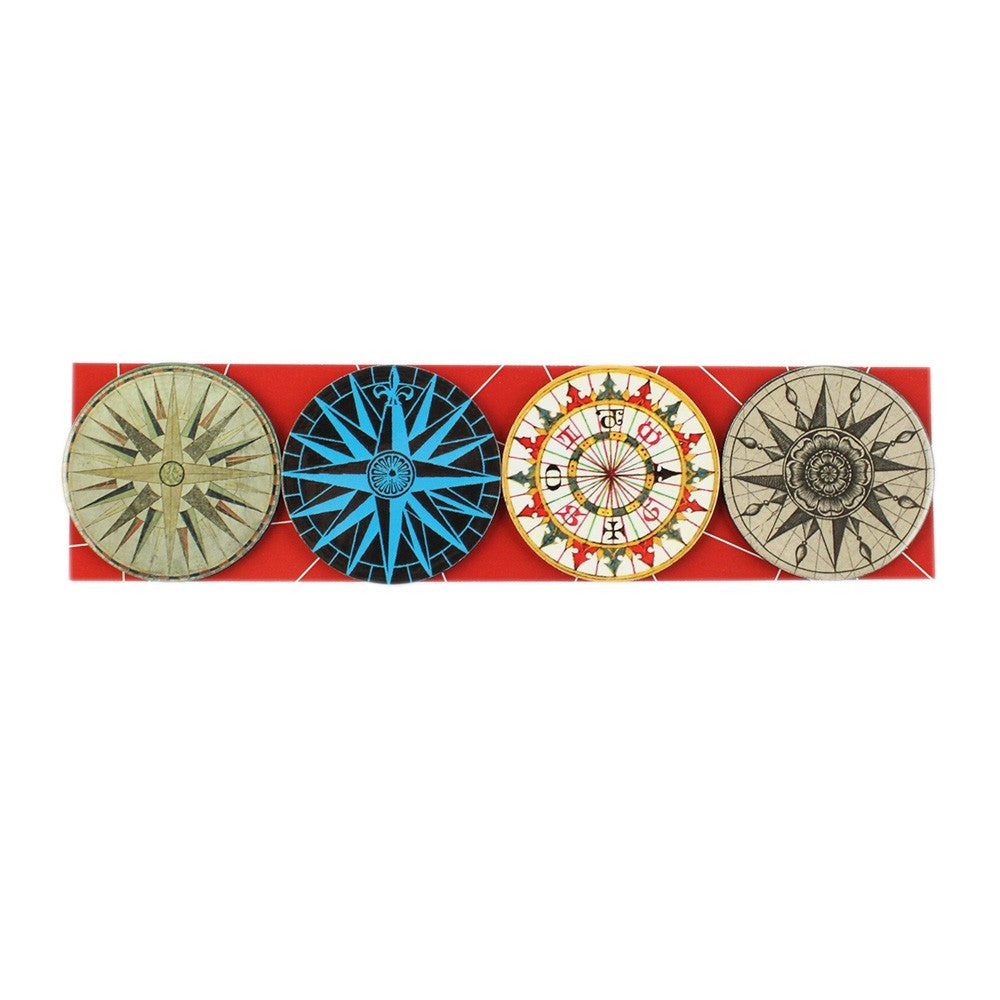 Compass Magnet Set