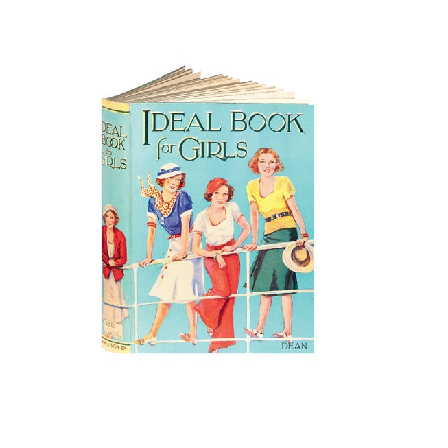 Ideal Book for Girls Greetings Card