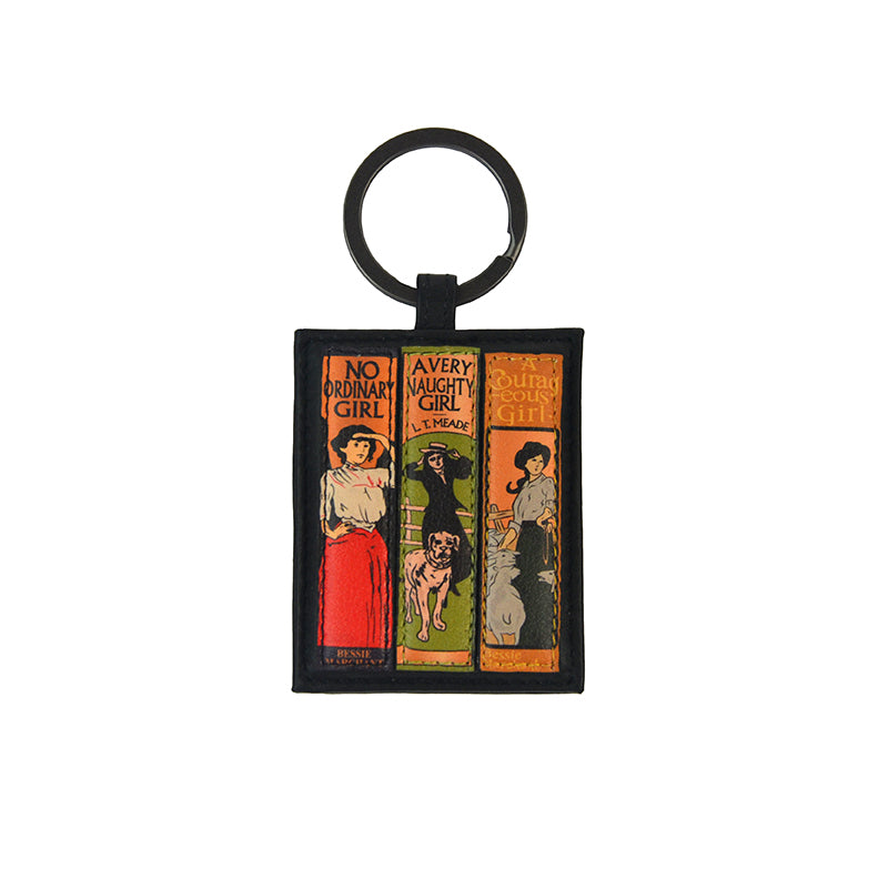No Ordinary Girl Leather Keyring