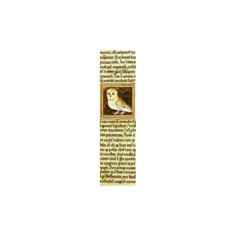 Medieval Owl Bookmark