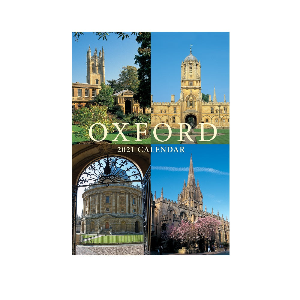 Oxford Colleges A5 calendar 2021