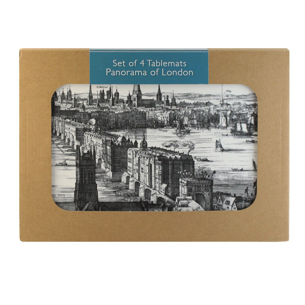 Panorama of London Set of 4 Placemats