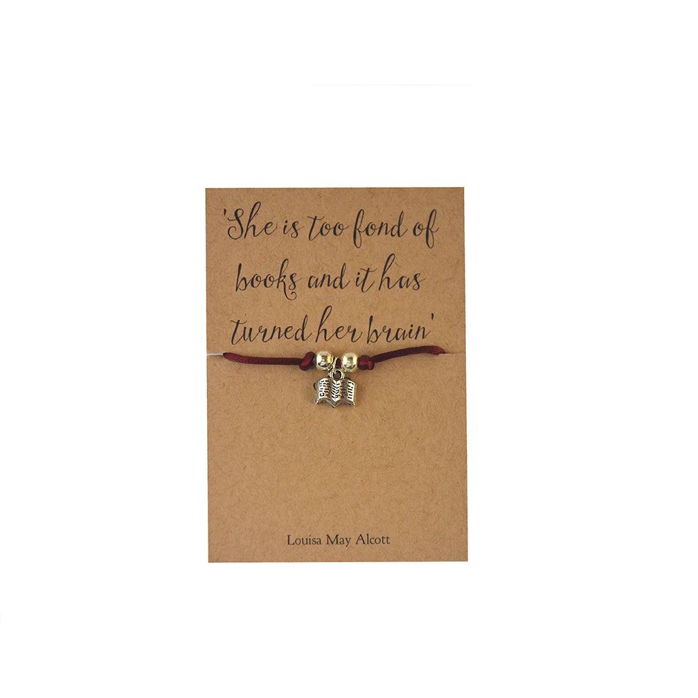 Book Lover Friendship Bracelet