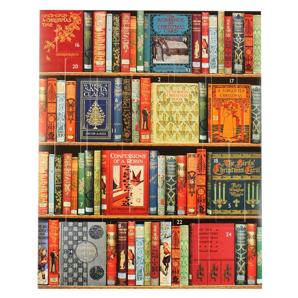Christmas Bookshelves Advent Calendar