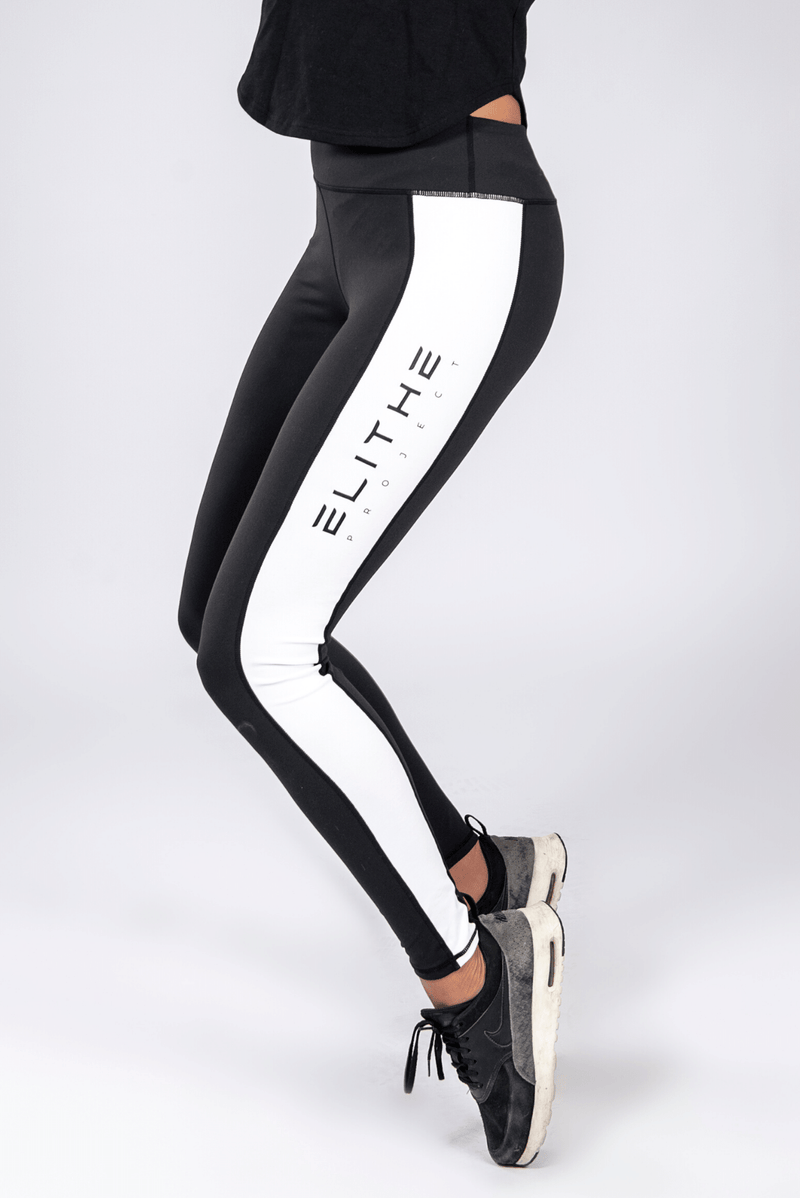 Legging Stripe  Black