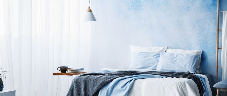 Blue is for the Bedroom - 5 Bedroom Design Tips for Better Sleep