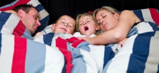Five Ways to Make Healthy Sleep a Family Habit