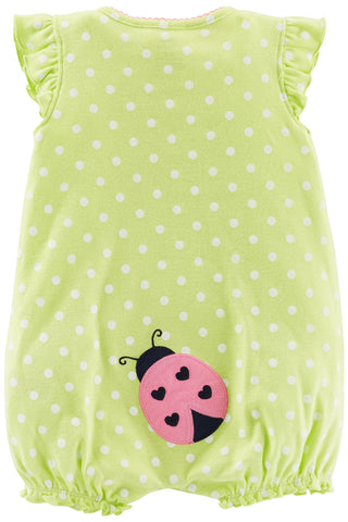 Simple Joys by Carters baby-girls 3-Pack Snap-up Rompers Romper