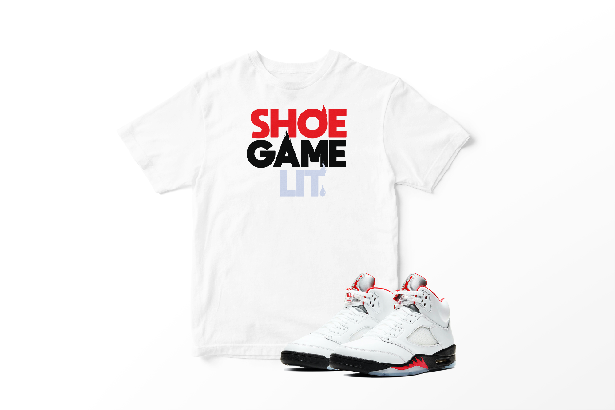 Prize Red Sneaker Game Graphic Tee