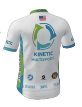 Load image into Gallery viewer, Kinetic Series Cycling Jersey White (Ladies)