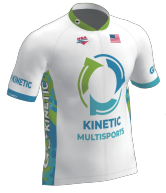 Kinetic Series Cycling Jersey White (Ladies)