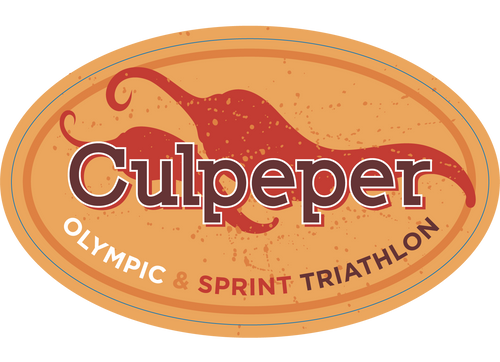 Culpeper Triathlon Sticker