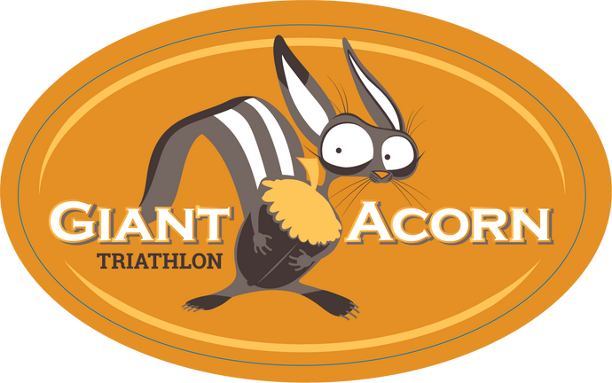 Giant Acorn Sticker